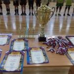 Награды первенства СК по волейболу юн 2007-2008