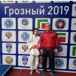 Пер-во СКФО по дзюдо 28-30.04.19г Грозный Погорелова Кс-3 м