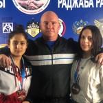 Тренер Потапов А.Л.с призерами-Таймасхановой и Касумовой