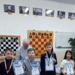 Николаев А. 3м (третий слева)