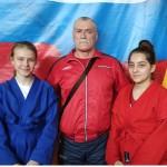 Слева направо Ковальчук Н, Магомедов С.У ,, Расулова З